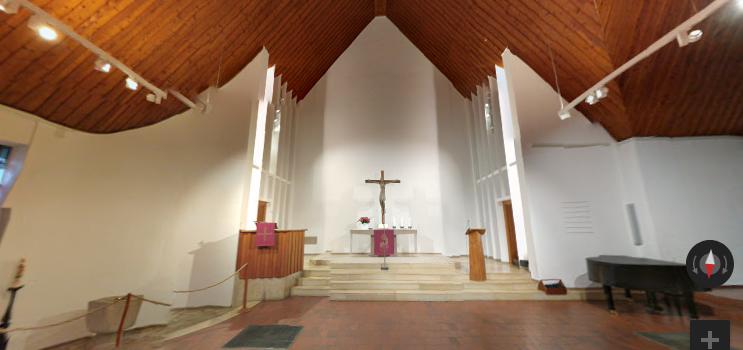 Heilig-Geist-Kirche virtuell geöffnet
